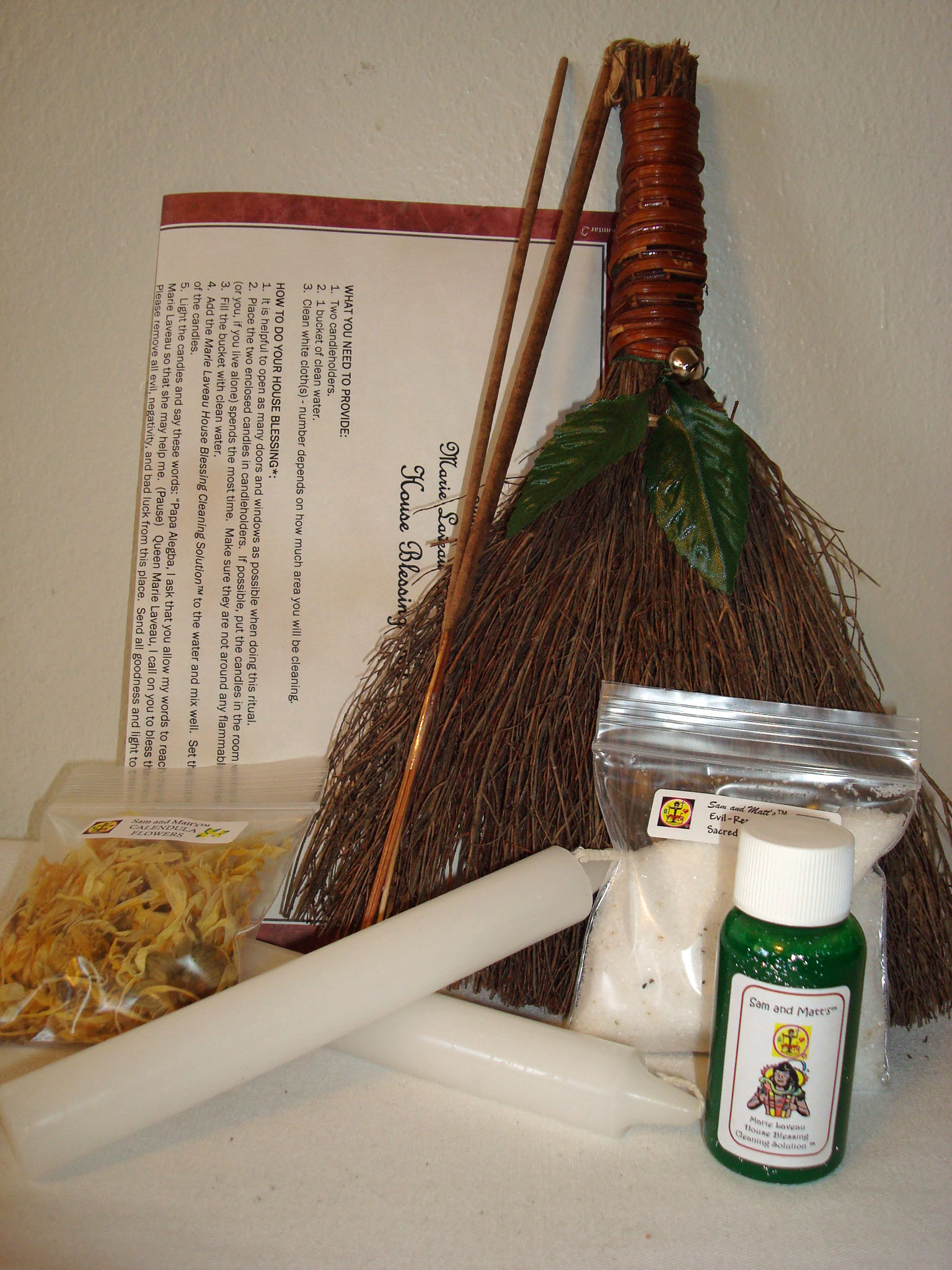 traditional new orleans voodoo house blessing kit