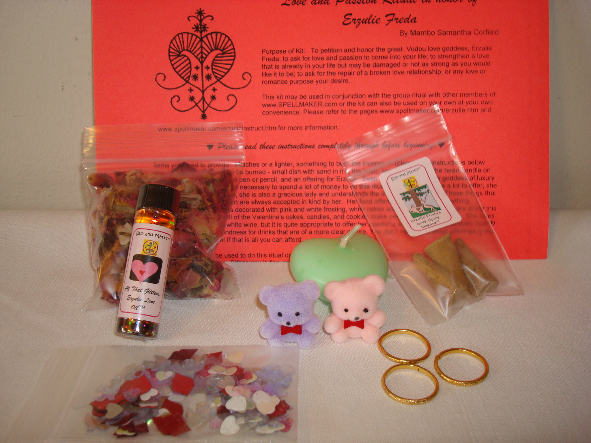 Erzulie Freda Love Spells, Love Magick, and Service to