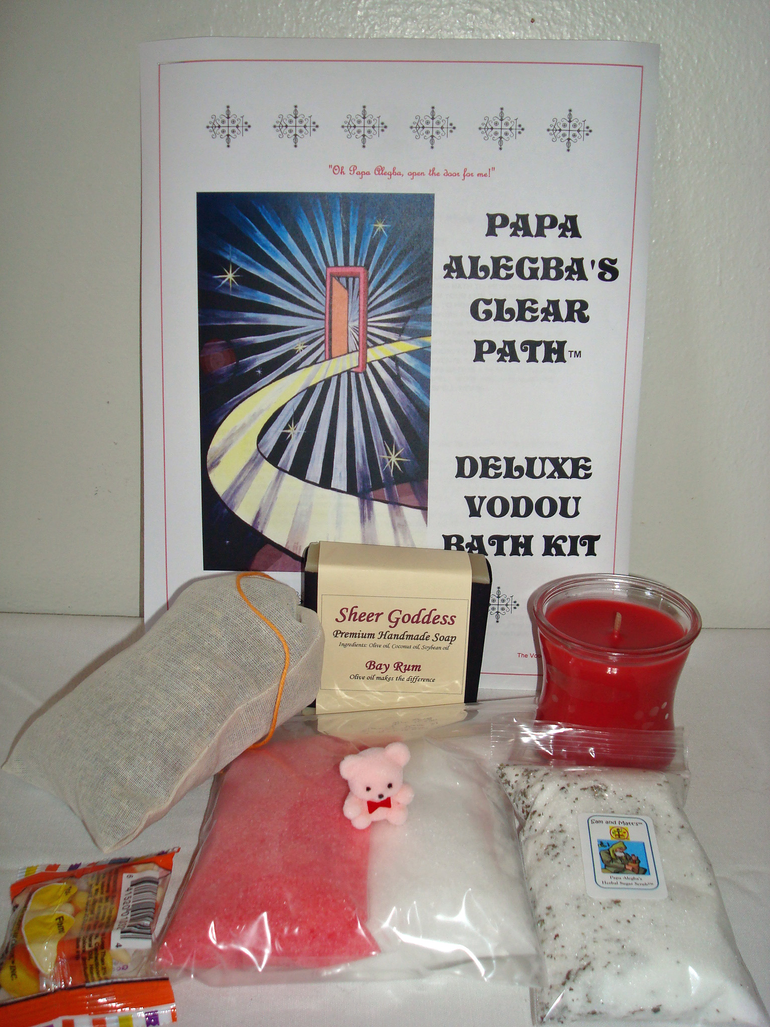 traditional Vodou bath for Papa Legba